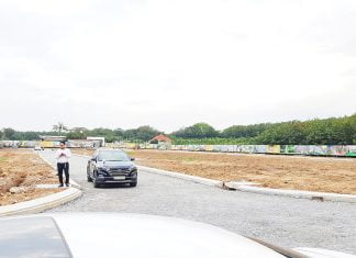Hình ảnh thực tế tại dự án Bencat City Zone tháng 11/2020