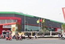 Hình ảnh trung tâm thương mại Big C thuộc Tập đoàn Central Retail