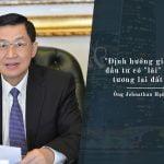 Quan điểm kinh doanh của Jonhathan Hạnh Nguyễn
