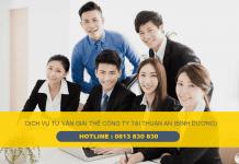 Tư vấn giải thể doanh nghiệp (công ty) tại Thành phố Thuận An, Tỉnh Bình Dương