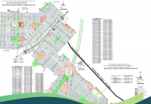 Bản đồ mặt bằng phân lô khu dân cư Becamex Chơn Thành