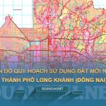 Tải về bản đồ quy hoạch sử dụng đất Thành phố Long Khánh (Đồng Nai)