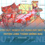 Tải về bản đồ quy hoạch sử dụng đất huyện Long Thành (Đồng Nai)