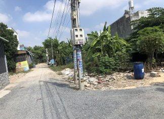 Hình thực tế lô đất 180m2 tại phường Phú Mỹ (Thủ Dầu Một)