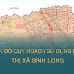 Bản đồ quy hoạch sử dụng đất Thị xã Bình Long, Tỉnh Bình Phước