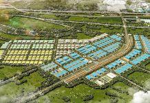 Phối cảnh tổng thể Khu công nghiệp Minh Hưng Sikico