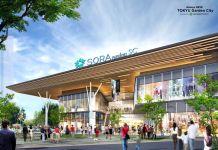 Phối cảnh trung tâm thương mại Sora Gardens SC (Aeon Thành phố mới Bình Dương)