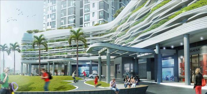Trung tâm thương mại SORA gardens SC dự kiến đi vào hoạt động từ năm 2023