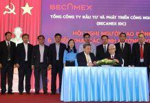 ecamex IDC tổ chức lễ ký kết thỏa ước lao động tập thể và giao ước thi đua năm 2021