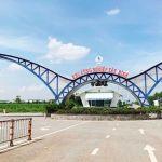 Hình ảnh cổng chào Khu công nghiệp Tân Bình