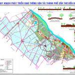Bản đồ quy hoạch giao thông Thành phố Cần Thơ đến năm 2030