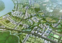 Phối cảnh tổng thể dự án Amata City Long Thành