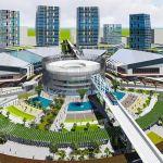 Phối cảnh nhà ga trung tâm Tuyến Metro Thành phố mới Bình Dương
