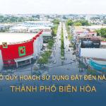 Tải về bản đồ quy hoạch sử dụng đất đến năm 2030 thành phố Biên Hòa (Đồng Nai)