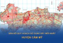 Bản đồ quy hoạch sử dụng đất huyện Cẩm Mỹ (Đồng Nai)