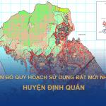 Quy hoạch sử dụng đất huyện ĐỊnh Quán (Đồng Nai) mới nhất