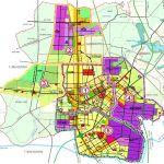 Vị trí 5 khu vực phát triển đô thị của Chơn Thành (Bình Phước)
