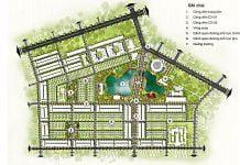 Phối cảnh Khu đô thị và công viên trung tâm TP Đồng Xoài