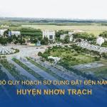 Bản đồ quy hoạch sử dụng đất huyện Nhơn Trạch (Đồng Nai) đến năm 2030