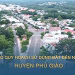 Tải về bản đồ quy hoạch sử dụng đất huyện Phú Giáo (Bình Dương) đến năm 2030
