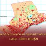 Tải về bản đồ quy hoạch sử dụng đất Thị xã La Gi (Bình Thuận)
