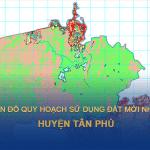 Bản đồ quy hoahcj sử dụng đất huyện Tân Phú (Đồng Nai)