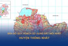 Bản đồ quy hoạch sử dụng đất huyện Thống Nhất (Đồng Nai)