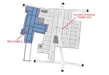 Khu nhà ở thương mại Thuận Lợi 2 là phần mở rộng của Rich Home 2