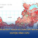 Bản đồ quy hoạch sử dụng đất huyện Vĩnh Cửu (Đồng Nai)