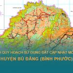 Tải về bản đồ quy hoạch sử dụng đất huyện Bù Đăng (Bình Phước) cập nhật mới nhất