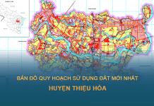 Tải về bản đồ quy hoạch sử dụng đất huyện Thiệu Hóa (Thanh Hóa)