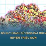 Tải về bản đồ quy hoạch sử dụng đất huyện Triệu Sơn (Thanh Hóa)