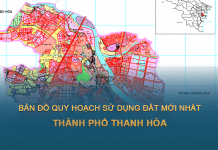 Tải về bản đồ quy hoạch sử dụng đất Thành phố Thanh Hóa mới nhất