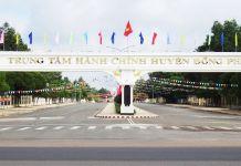 Trung tâm hành chính huyện Đồng Phú (Bình Phước)