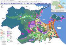 Bản đồ điều chỉnh Quy hoạch Thành phố Đà Nẵng đến năm 2030 tầm nhìn năm 2045