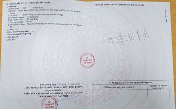 Sổ hồng lô đất 118m2, mặt tiền đường số 3, Khu tái định cư Phú Chánh A