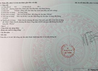 Bán lô đất 278m2 mặt tiền DX 065, phường Định Hòa, TP Thủ Dầu Một