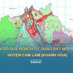 Tải về bản đồ quy hoạch sử dụng đất huyện Cam Lâm (Khánh Hòa)