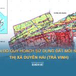 Tải về quy hoạch sử dụng đất Thị xã Duyên Hải (Trà Vinh)