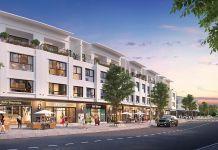 Phối cảnh nhà phố Đại An Đồng Xoài (Hình minh họa)