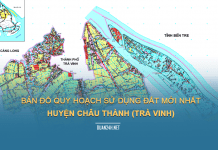 Tải về bản đồ quy hoạch sử dụng đất huyện Châu Thành (Trà Vinh)