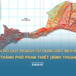 Tải về bản đồ quy hoạch sử dụng đât Thành phố Phan Thiết (Bình Thuận)