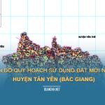 Tải về bản đồ quy hoạch sử dụng đất huyện Tân Yên (Bắc Giang)