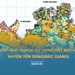 Tải về bản đồ quy hoạch sử dụng đất huyện Yên Dũng (Bắc Giang)