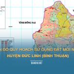 Tải về bản đồ quy hoạch dử dụng đất huyện Đức Linh (Bình Thuận)
