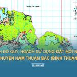 Tải về quy hoạch sử dụng đất huyện Hàm Thuận Bắc (Bình Thuận)