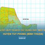Tải về bản đò quy hoạch sử dụng đất huyện Tuy Phong (Bình Thuận)
