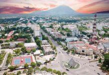 Một góc Thành phố Tây Ninh (Hình : Internet)