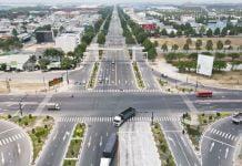 Ngã tư Quốc lộ 13 giao với Cao tốc Bàu Bàng - Mỹ Phước - Tân Vạn