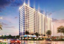 Phối cảnh tổng thể dự án Chung cư Bình Dương Tower